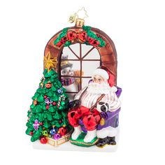 Radko Santa Ornament 2015