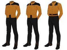 My custom Star Trek Uniforms - Pegasus Fleet Forums Star Trek Uniforms, Rear Admiral, Star Trek Characters, Uniform Dress, Uniform Design, Star Trek Universe, Jesse James, Fantastic Four, Science Fiction