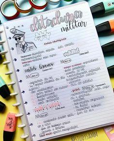 Zusammenfassung der Geschichte - Militärdiktatur - Taking notes inspo - Militar Bullet Journal Notes, Bullet Journal School, Bullet Journal Ideas Pages, College Notes, School Notes, Mental Map, Study Cards, Neat Handwriting, Study Organization