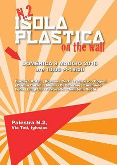 Rossana Corti, Francesco Cogoni, Dorian Curreli e altri artisti l'8 maggio 2016 ad Iglesias.