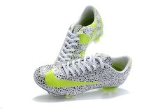 White Black Green New SoccerFootball Cleats Nike Mercurial Vapor Superfly III FG Safariout of stock Cheap Soccer Cleats, Nike Cleats, Soccer Gear, Soccer Boots, Kids Soccer, Football Shoes, Play Soccer, Football Soccer, Basketball Shoes