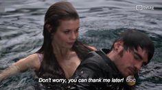 Ariel saves Killian!