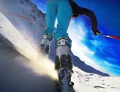 Get personalized #skiing lessons on every slop with Carv, the world's first real-time #ski #wearable.