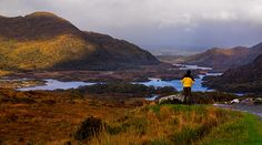 Ladies' view at the Ring of Kerry.