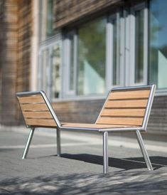 Bilateral Bench Designed By Julià Espinàs And Olga Tarrasó For @santacole |  S→坐凳 | Pinterest | Bench Designs, Bench And Street Furniture