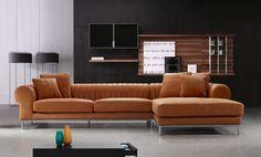 Stylish Design Furniture - Modern Top Leather Sectional Sofa - 1004, $4,005.00 (http://www.stylishdesignfurniture.com/products/modern-top-leather-sectional-sofa-1004.html)