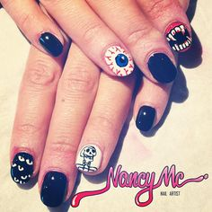 halloween by nancy_mc  #nail #nails #nailart