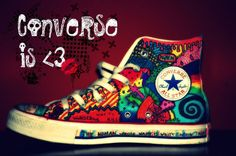 Converse: the greatest canvas to express yourself.