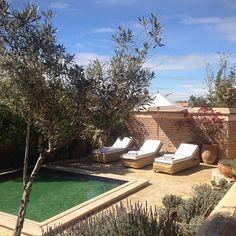 """Going poolside #elfenn #marrakech #morocco #maroc"""