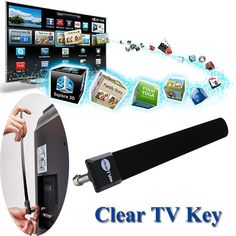 >> Click to Buy << XPF2017 New Arrivals Clear TV Key HDTV FREE TV Digital Indoor Antenna 1080p Ditch Cable As Seen on TV Free Shipping NOA30  #Affiliate