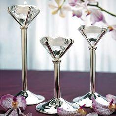 Diamond Shaped Tealight Holders - NEED!