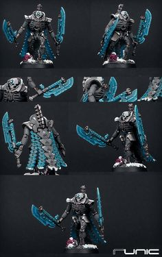 Necron Lord color scheme