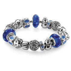 The First Snow Completed Bracelet By Pandora Jewelry at WilkinsandOlander.com