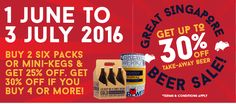Brewerkz GSS Singapore Promotion 1 Jun to 3 Jul 2016 - Why Not Deals