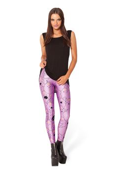 Lumpy Space Princess Leggings by Black Milk Clothing $85AUD