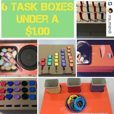 #Repost @ms.mandi with @repostapp.#workbasketwednesday ・・・ Happy Mother's Day to you!  I know mom's are always looking for tasks to occupy their lil ones. These are called Task Boxes. I refer to them as Quiet Boxes.