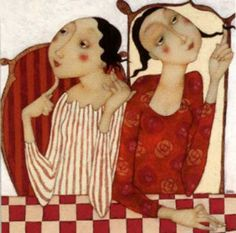 Cecile Veilhan and Her Women ~ Blog of an Art Admirer  #art