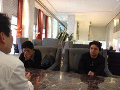 Great MTG w/ Brandon Hill san, Setsu san, and Yamana san!!! #konekoinUS