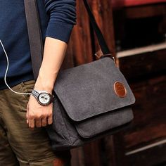 Canvas Messenger Bag 4