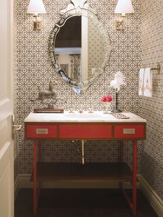 Powder Bath Design, Pictures, Remodel, Decor and Ideas - page 4