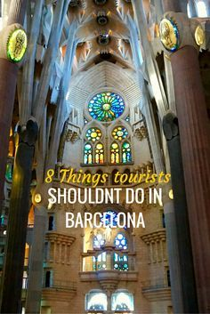 "I am a Barcelona lover, you might have noticed that for now but I am so surprised of things I see tourists doing when going around Barcelona! I feel so sad that they do all the wrong stuff and they go along marketing strategies, what they believe is ""typicals stuff"". So it has been going around my mind to tell you what you shouldn't do if you are a tourist in Barcelona and here I am."
