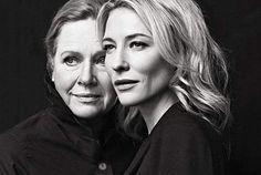 Retrato: Liv Ullman y Kate Blanchet