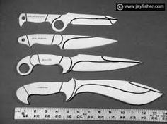 Image result for KNIFE template.