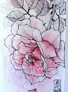 Hand Painted Silk Scarf. White Pink Roses Silk Scarf. Luxury Silk. Silk Chiffon Scarf. Floral Silk Scarf. Silk Scarves Takuyo.11x90.. $125.00, via Etsy.