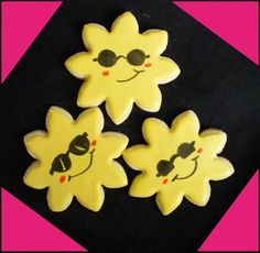 Sun Cookies with Sunglasses domesticsugar's media