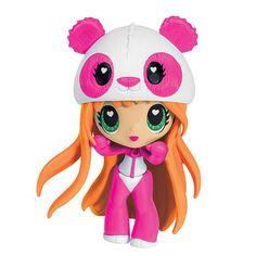 panda pop - Google Search Kawaii Crush, Paper Dolls Book, Kawaii Doll, Pop Dolls, Anime Dolls, Cute Toys, Kids Store, Toys For Girls, Cartoon Art