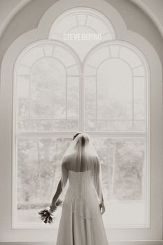 bridal portrait, window light, bride, veil, Steve DePino Photography, wedding photography, black and white photo