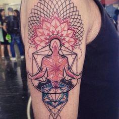 Sorry for The pic 🙏😱 #tattoo #tattooartist #art #artist #tattrx #tattoolife #tattooitalia #ink #inked #inkedboy #tattooedboy #meditation… Sexy Tattoos, Life Tattoos, Arm Tattoos, Body Art Tattoos, Tattoos For Guys, Cool Tattoos, Tatoos, Sleeve Tattoos, Geometric Tattoo Design