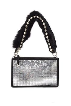 Okay, someone please buy me this bag.Opening Ceremony Crystal Nev Zip Clutch, $350, available at Opening Ceremony.  #refinery29 http://www.refinery29.com/2016/09/124699/new-bag-trends-fall-2016#slide-29