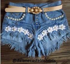 Resultado de imagem para customização jeans