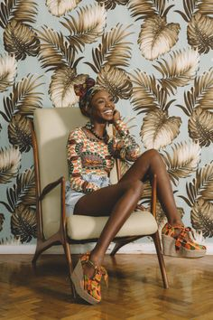 Tendance African Vintage : l'Afrique c'est chic African Inspired Fashion, Africa Fashion, Ethnic Fashion, Look Fashion, Bali Fashion, Ankara Fashion, African Attire, African Dress, Looks Boho Chic