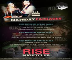 Saturdays at Rise Nightclub at Rise Nightclub,1 Leicester Square,London,WC2H 7NA,United Kingdom on 5th April at 10pm-3am, Price:Before 11: Ladies Free,Otherwise: £20, Rise Nightclub is conveniently nestled between The W hotel and Empire Casino Rise has helped bring the glam back to Central London nightlife, Category:Nightlife | Nightclub.