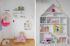 Roby's room - Scandinavian style - Babiekins Magazine. pinterest.com/kawaiigirl79/ Just the sweetest girl's room ever!!