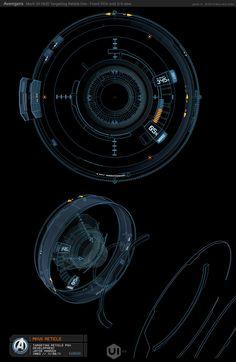 钢铁侠Mark VII界面设计概念-UI中国-专业界面设计平台