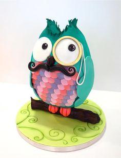 By Cake Nouveau. Cake Wrecks - Home Crazy Cakes, Fancy Cakes, Cupcakes, Cupcake Cookies, Pretty Cakes, Beautiful Cakes, Amazing Cakes, Cake Wrecks, Unique Cakes