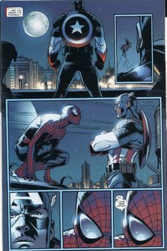 Captain America speech to Spiderman - Album on Imgur