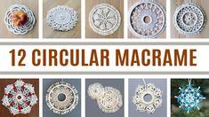 12 CIRCULAR MACRAME IDEAS Personalized Candles, Personalized Birthday Gifts, Macrame Knots, Macrame Jewelry, Macrame Projects, Diy Projects, Macrame Design, Diy Keychain, Macrame Tutorial