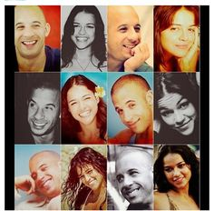 "Vin Diesel & Michelle Rodriguez ""Dom & Letty"""