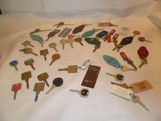 Vintage Lot Of 41 Motel Hotel Room Keys nice lot of hotel keys mgm vegas more