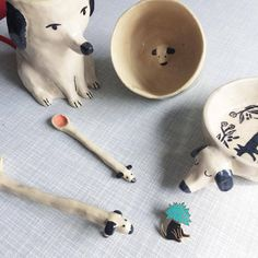 So I have this thing for dogs…everywhere In Our house there are dog things; a dog mug, a dog lamp, a dog bowl, a dog pin and even some dog spoons, but no actual dog. I wonder how my cat feels about all this…