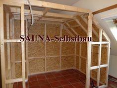 Sauna in the basement self build Sauna in the basemen Diy Sauna, Basement Sauna, Sauna Room, Infra Sauna, Electric Sauna Heater, Types Of Ceilings, Diy Roofing, Sauna Design, Small Showers