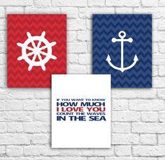 Nautical set $12  Www.facebook.com/custom.designs.by.ana