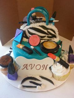 Avon party cake Can be my Birthday Cake