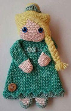 Crochet Lovey, Crochet Teddy, Crochet Patterns Amigurumi, Baby Blanket Crochet, Crochet Dolls, Crochet Crafts, Crochet Projects, Christmas Crochet Patterns, Crochet Accessories