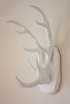 DIY Antler Wall Art