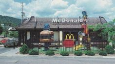 This is how I remember McDonalds when I was a kid